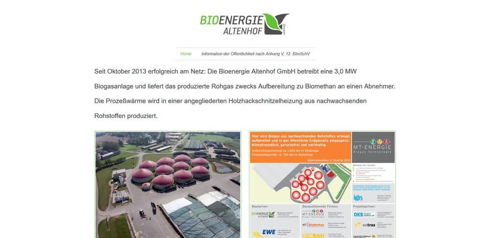 Bioenergie Altenhof